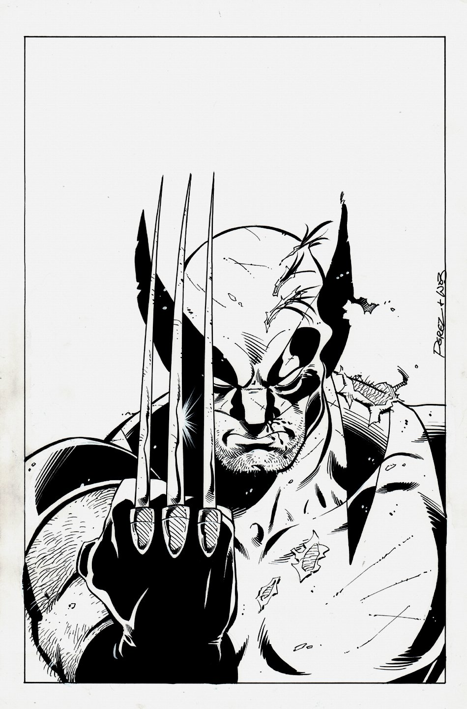 Wolverine Cover Quality Pinup