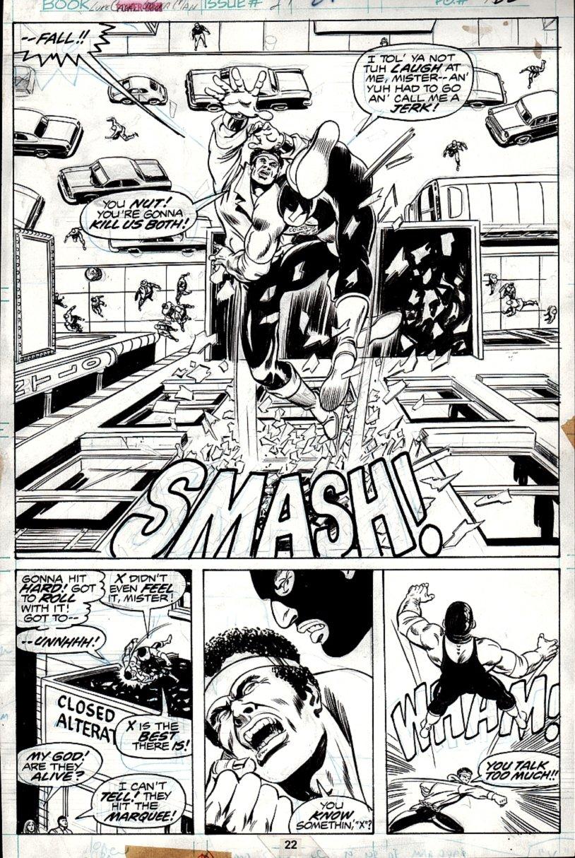 Power Man #27 p 22 SPLASH (1975)