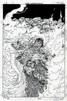 Superman #4 Cover (2011) Comic Art