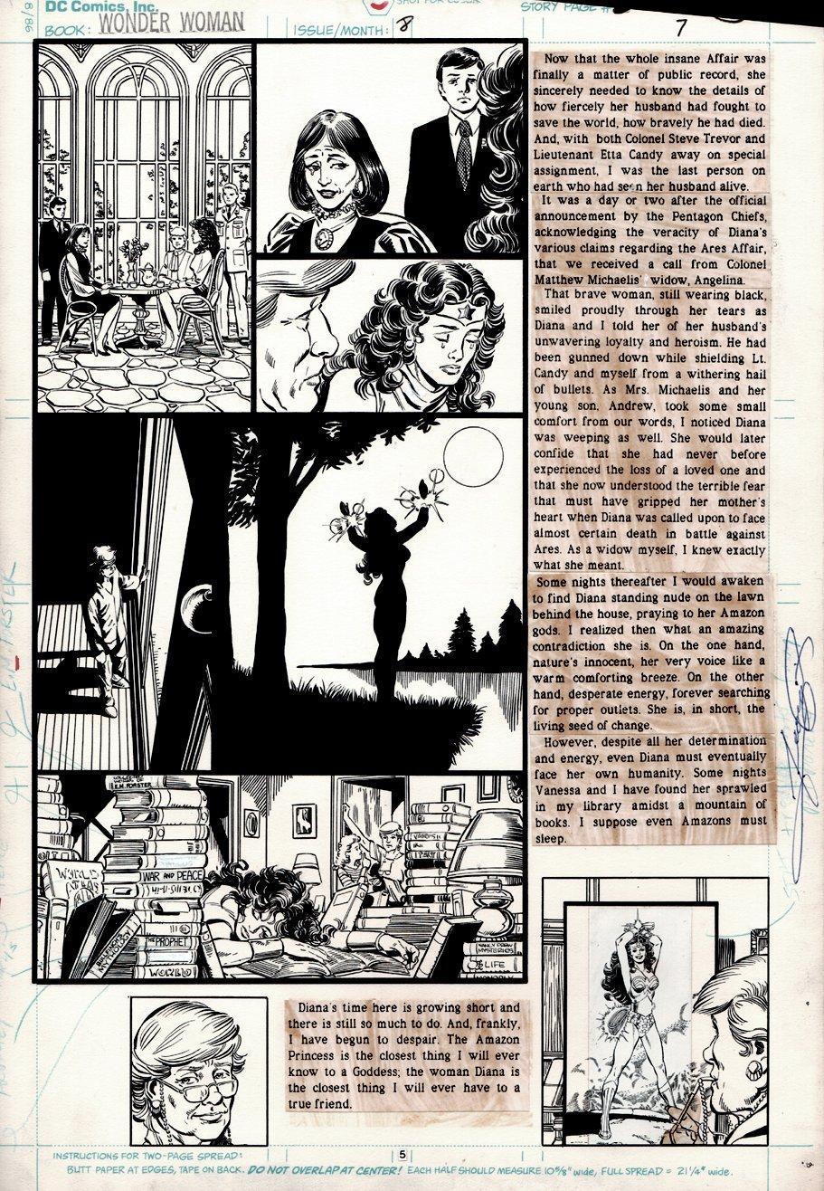 Wonder Woman #8 p 5 (1987)