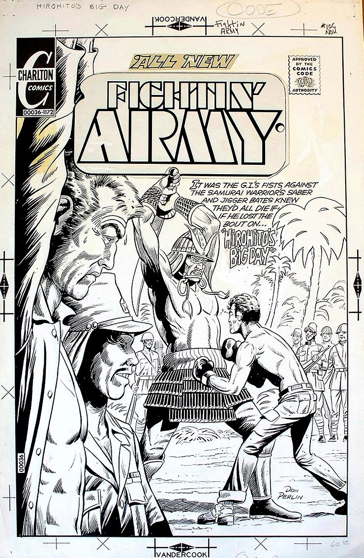 Fightin' Army #106 Cover (Large Art) 1972