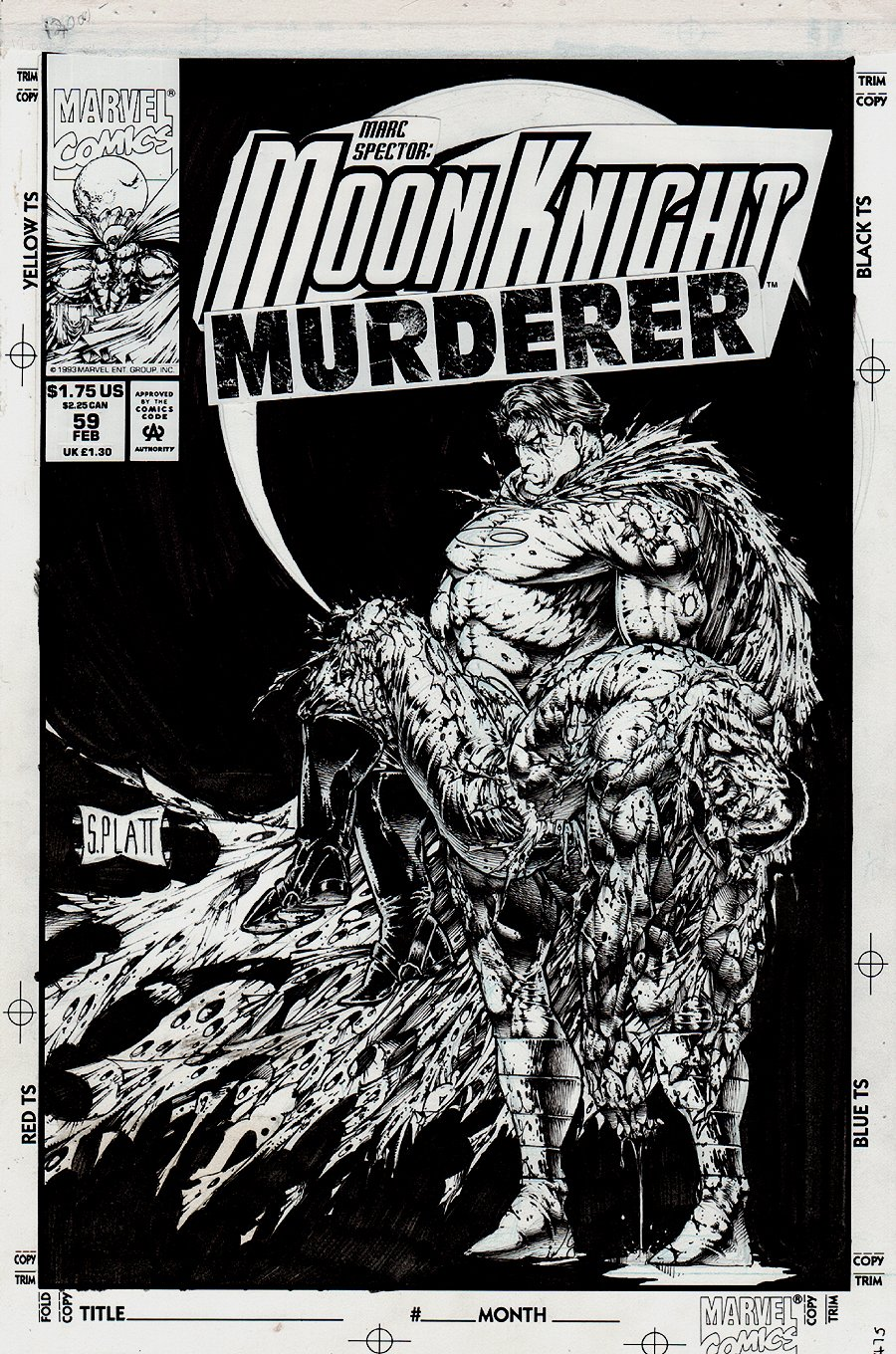 Moon Knight #59 Cover (1994)
