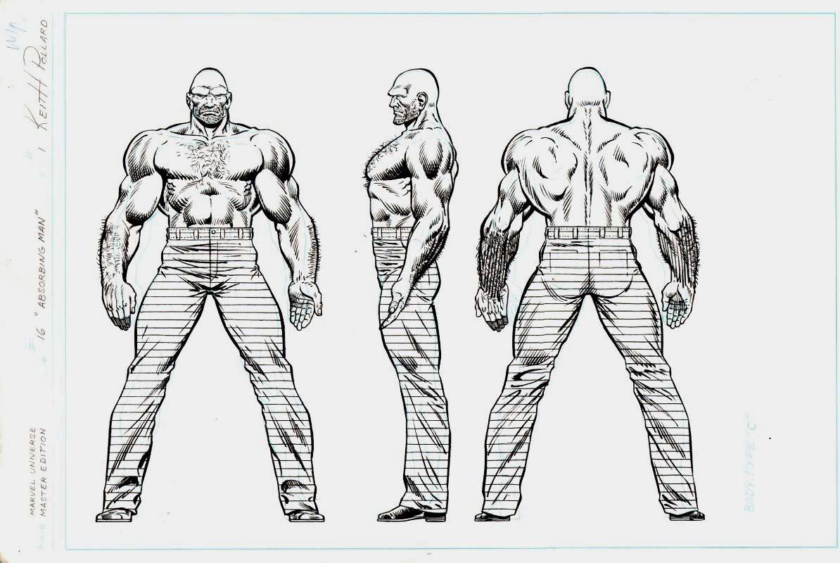 Marvel Universe- Master Edition - Absorbing Man
