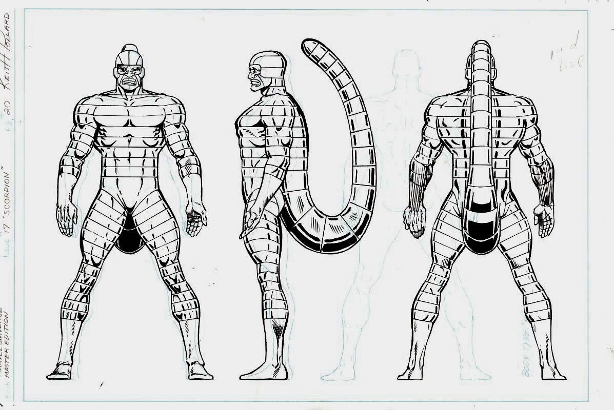 Marvel Universe- Master Edition - Scorpion