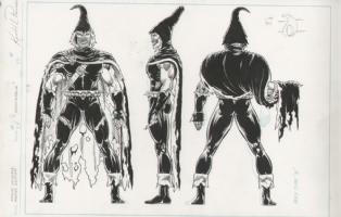 Marvel Universe Master Edition - Demogoblin Issue 34 Comic Art
