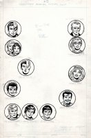 Amazing Spider-Man Annual #13 (12 Heads for Mighty Marvel Bonus Pinup Pages) 1979 Comic Art