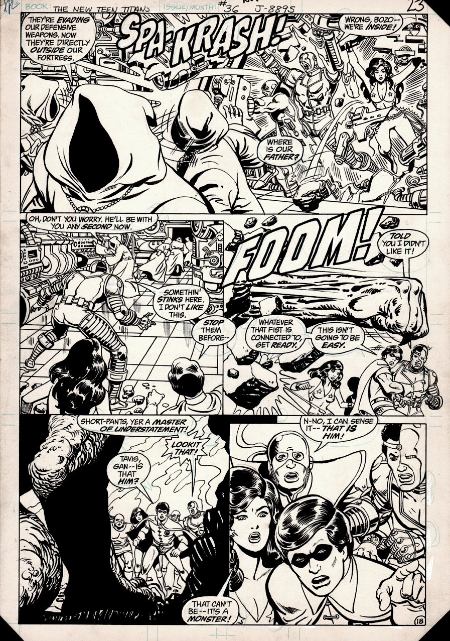 New Teen Titans #36 p 18 (1983)