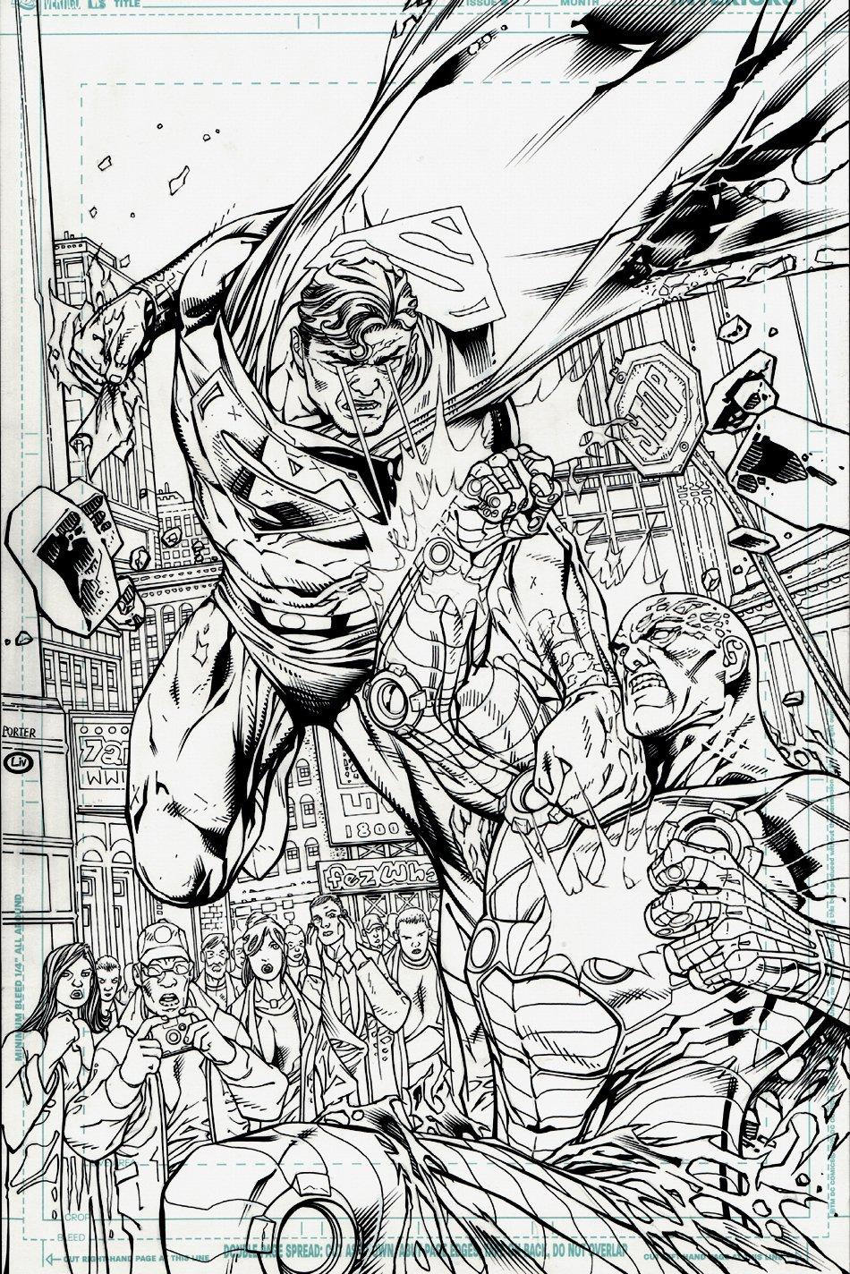 DC Universe Legends #13 Cover (2011)