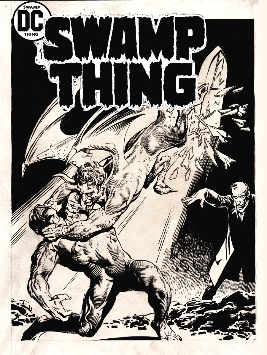 Swamp Thing #15 Cover Recreation (1980)