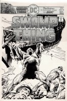 Swamp Thing #19 Cover (1975) Comic Art