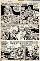 Captain America #185 p 18 (1975) Comic Art