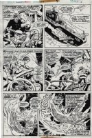 Invaders #3 p 6 (1975) Comic Art