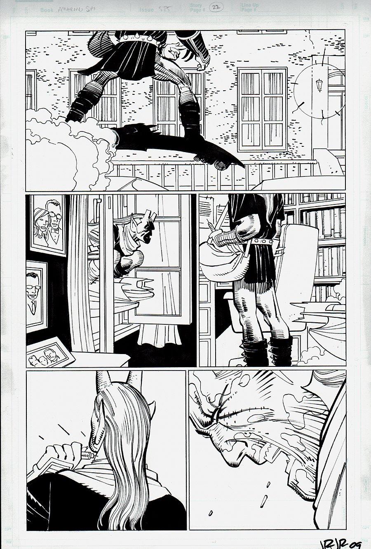 Amazing Spider-Man #585 p 22 (2008)