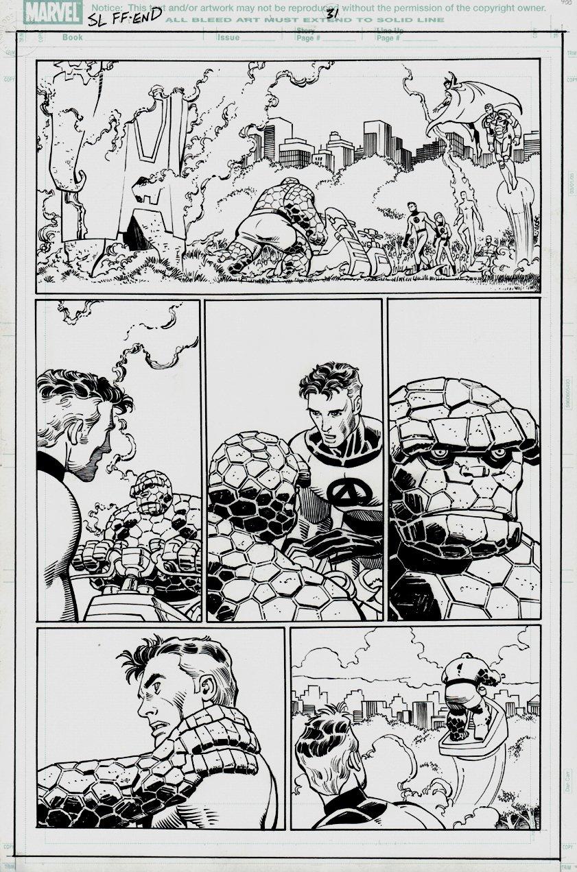 The Last Fantastic Four Story #1 p 31 (2007)