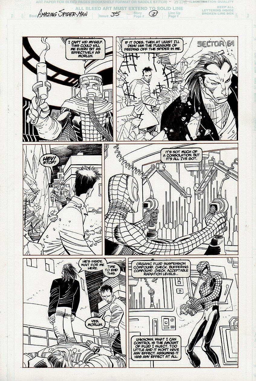 Amazing Spider-Man #35 p 21 (2001)
