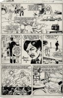 Dazzler #1 p 14 (FIRST ISSUE And ORIGIN PAGE!) 1980 Comic Art