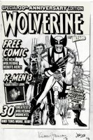 Wizard Magazine Special 30th Anniversary Edition Wolverine Cover (2004) Comic Art