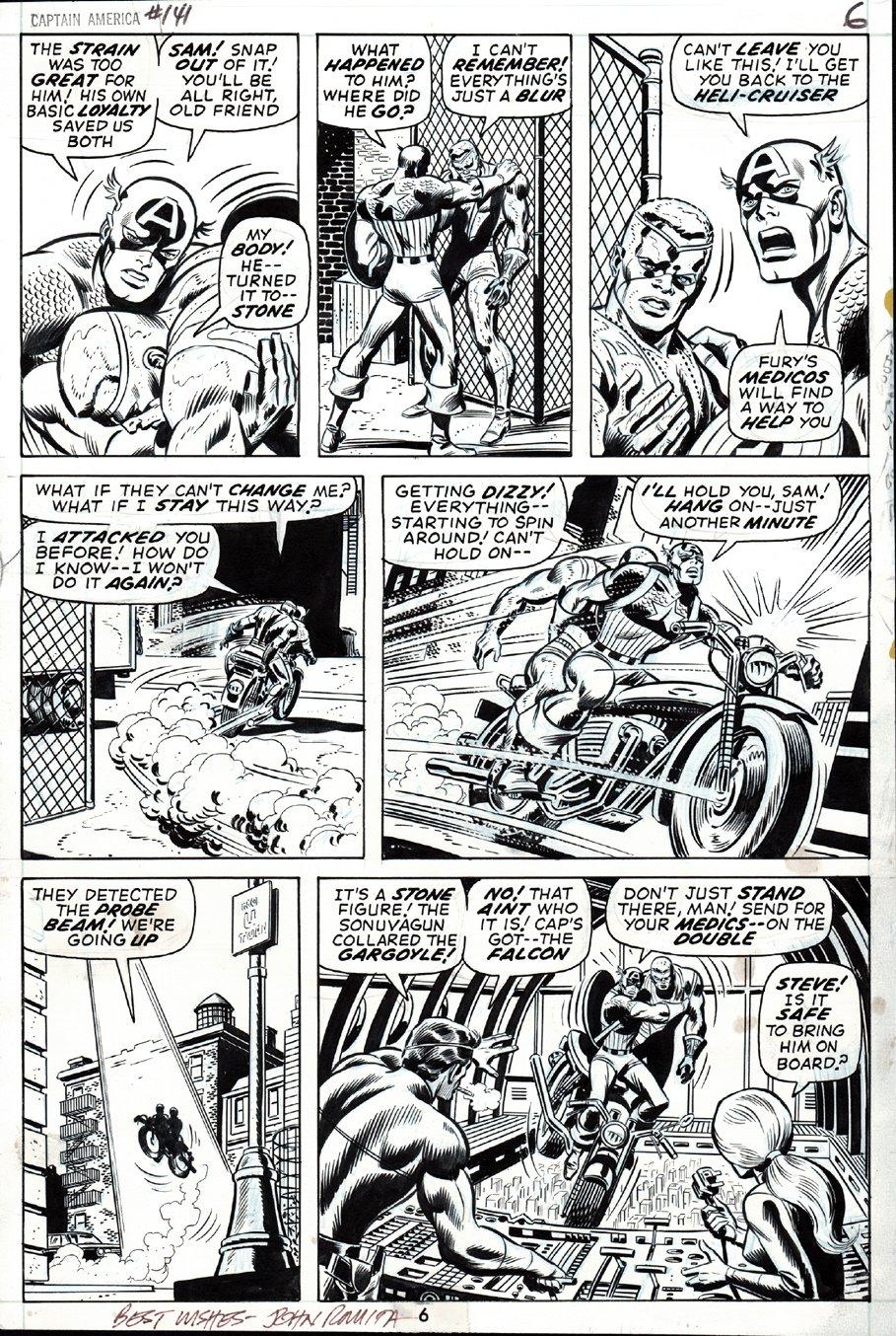 Captain America #141 p 4 (1971)