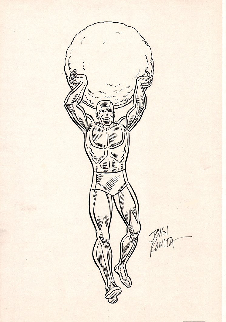 Iceman Merchandising Pinup (Late 1970s Early 1980s)