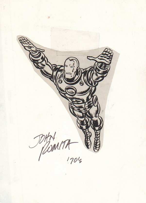 Iron Man Cover Image (1970s)