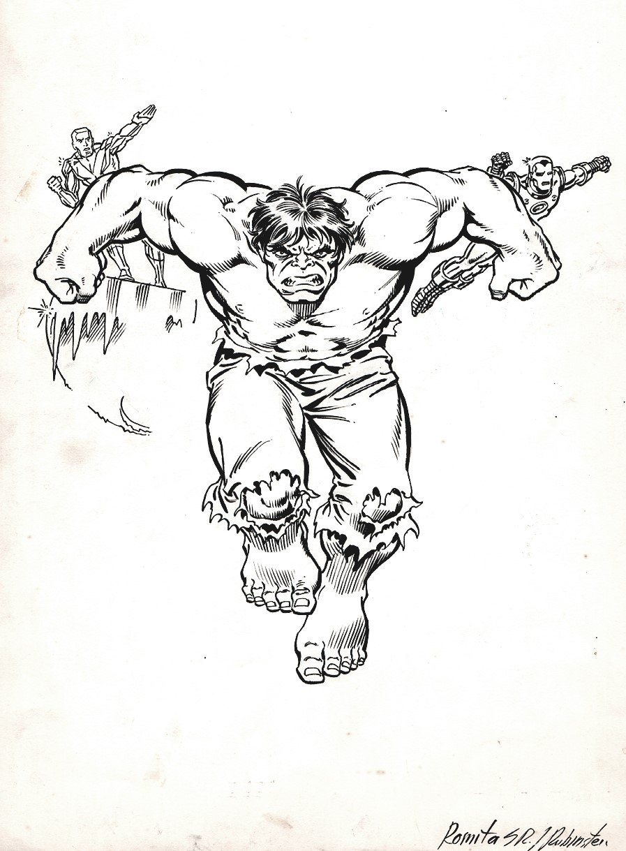 The Official Handbook of the Marvel Universe #3 Cover (1986)