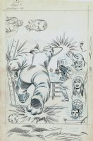 Amazing Spider-Man #43 p 1 Un-Used SPLASH (LARGE ART) 1966 Comic Art