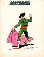 1969 Marvel Mania: MATADOR Villain Pinup (Daredevil #4 Cover Homage) Comic Art