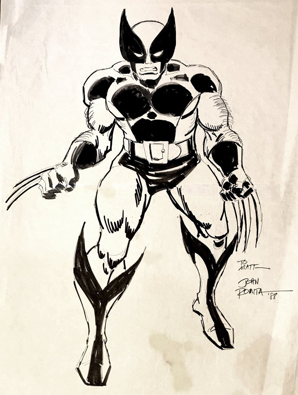 Wolverine Very Large Pinup (1988)