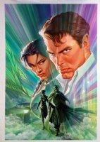 Green Hornet #4 Cover Painting (2010) Comic Art