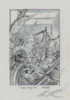 Fantastic Four Omnibus Volume 3 Cover Pencil Prelim Comic Art
