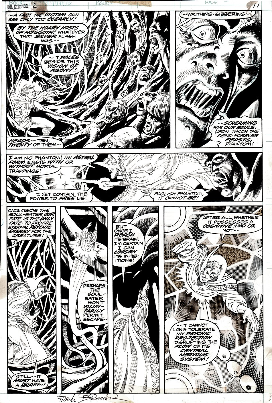 Doctor Strange #2 p 11 (DR STRANGE IN 6 GREAT PANELS!) 1974