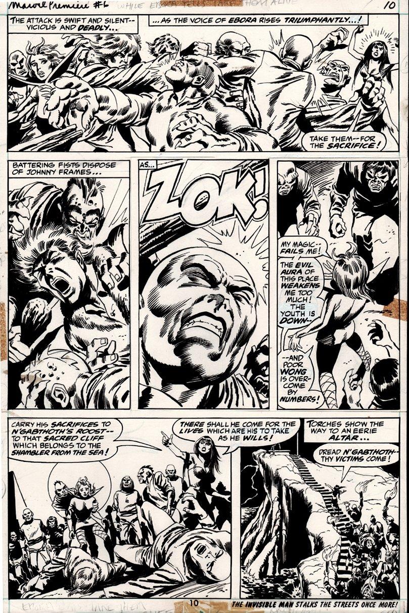 Marvel Premiere #6 p 10 (1972)