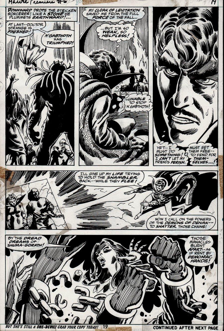 Marvel Premiere #6 p 19 (1972)