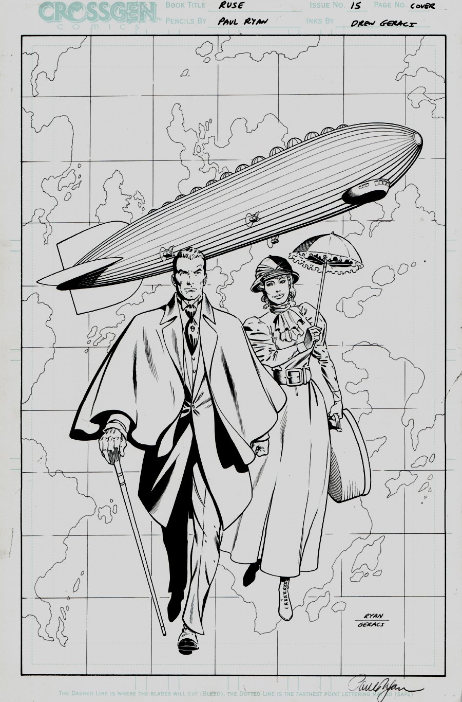 Ruse #15 Cover (2002)