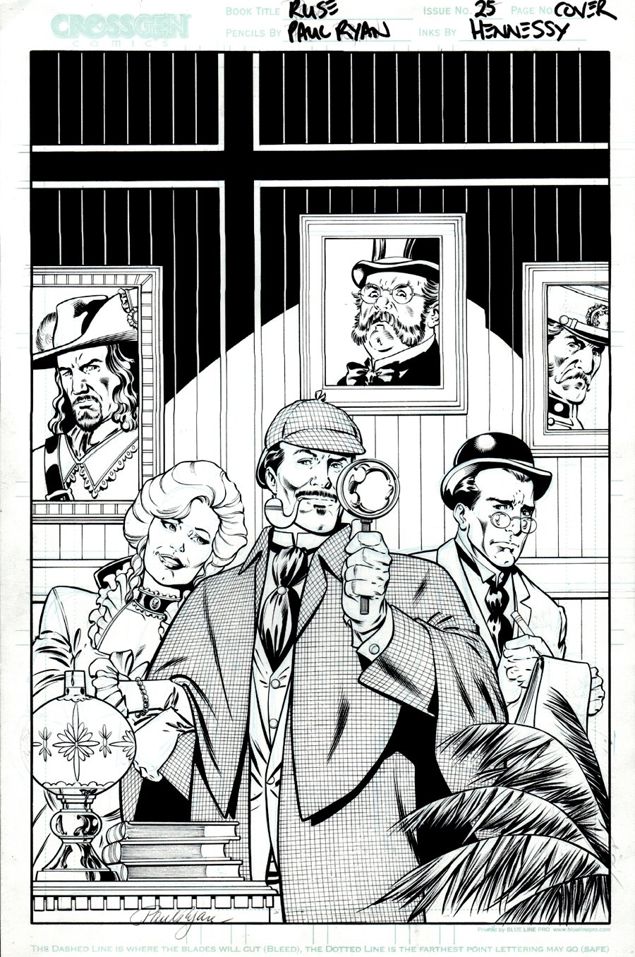 Ruse #25 Cover (2003)
