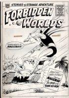 Forbidden Worlds #127 Cover (Large Art) 1965 Comic Art