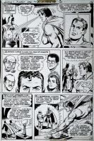 World's Finest #248 p 12 (1978) Comic Art