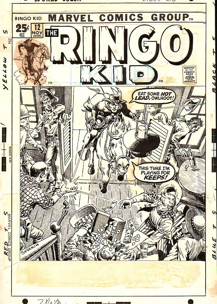 Ringo Kid #12  Cover (1971) 
