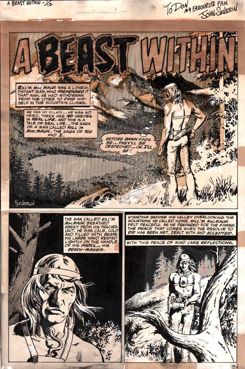 Creepy #73 p 1 SPLASH (1975)