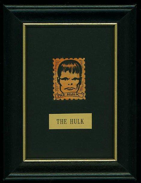 'Earliest' Marvel Silver Age Stamp: INCREDIBLE HULK (1964)