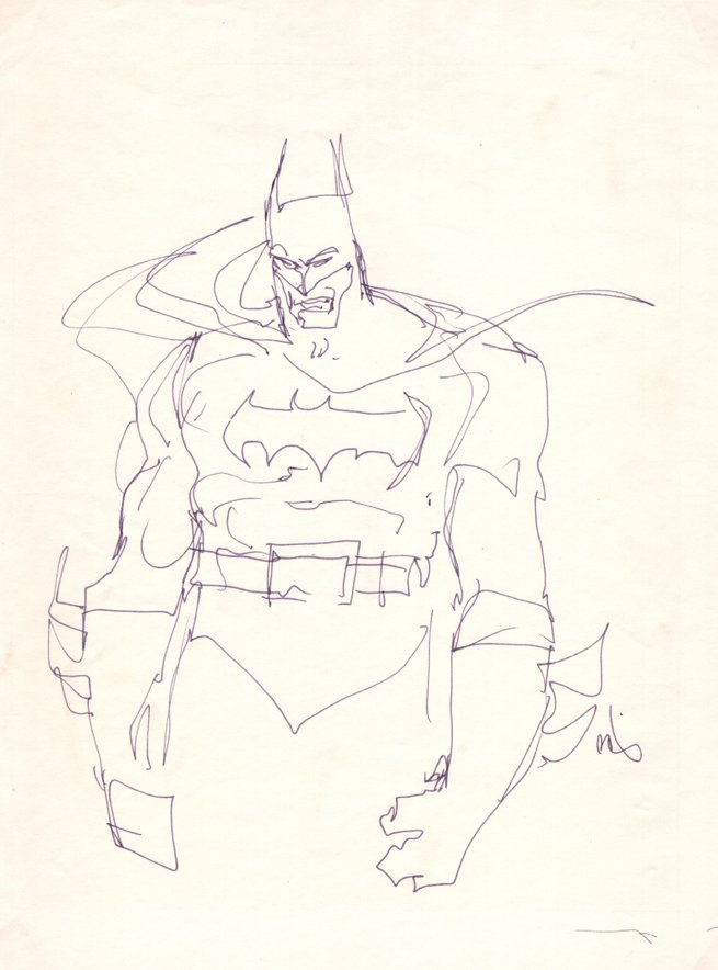Batman Ink Pinup (1980s)