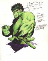 Incredible Hulk Pinup (1980) Comic Art