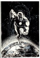 All Flash #1 Cover (2007) Comic Art