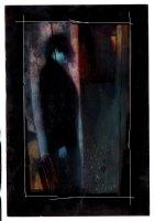Clive Barker's Hellraiser #3 Painted Splash (Large Art) 1990  Comic Art