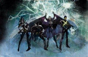 X-Men Movie Concept Painting (2002) Comic Art