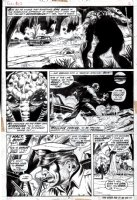 Fear #12 p 2 (1973) Comic Art