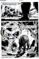 Fear #12 Last Page SPLASH (1973) Comic Art