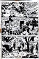 Fear #12 p 5 (1973) Comic Art