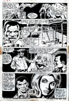 Fear #12 p 7 (1973) Comic Art