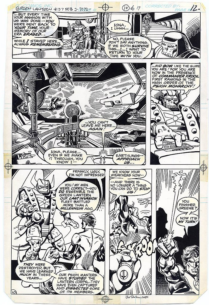Green Lantern #137 p 10 (1980)